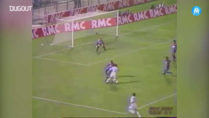 Eric Cantona's best moments for Olympique de Marseille