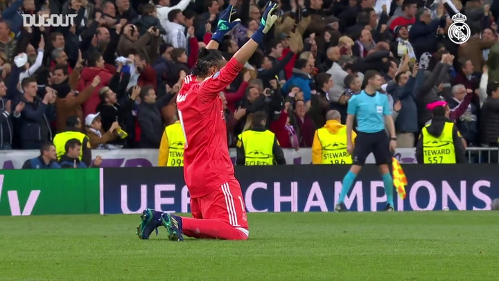 Las mejores 5 paradas de Keylor Navas con el Real Madrid