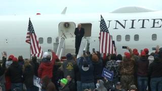 Trump y Biden en estados clave en último fin de semana antes de elección