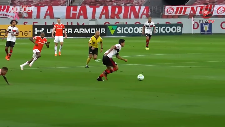 Goals of Pedro, Bruno Henrique and Gabigol for Flamengo in Brazilian Championship