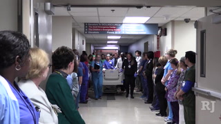 UMC staff holds donor walk for Michael Sigler