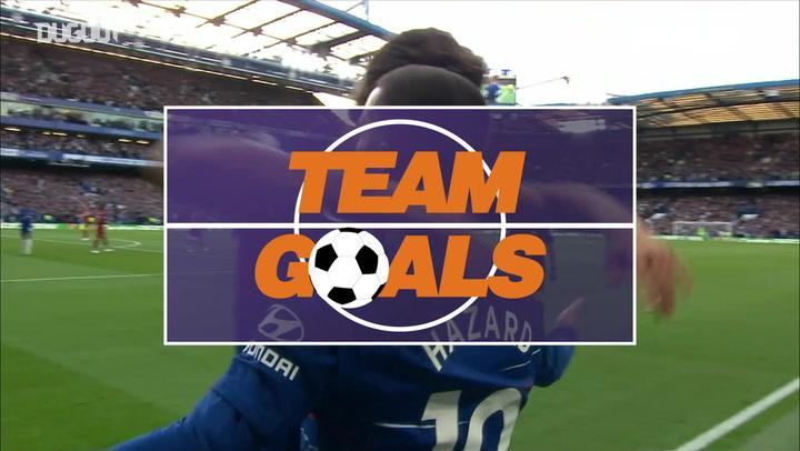 Team Goals: Eden Hazard Vs Liverpool