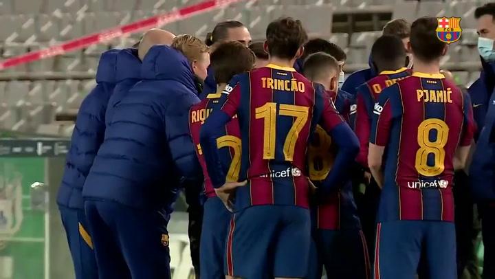 El momento en el que Riqui Puig pidió tirar el quinto penalti