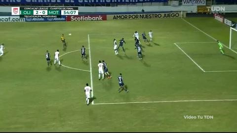 El golazo de Deiby Flores contra Motagua en la Liga Concacaf