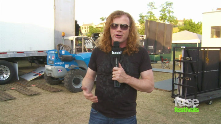 Megadeth on Whose Life and Playing Festivals: Beale St. Music Festival