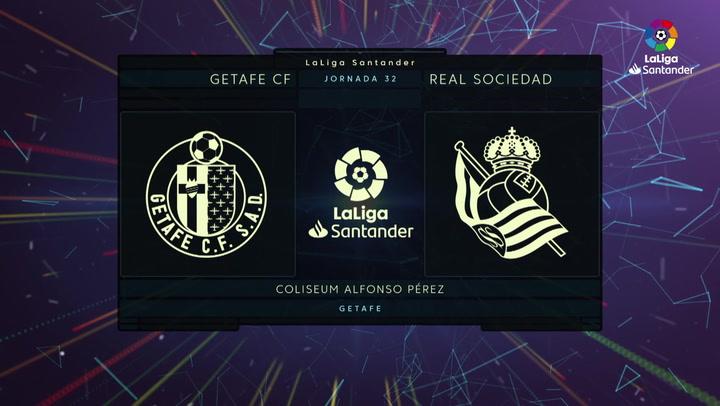 LaLiga Santander (J.32): Getafe 2-1 Real Sociedad