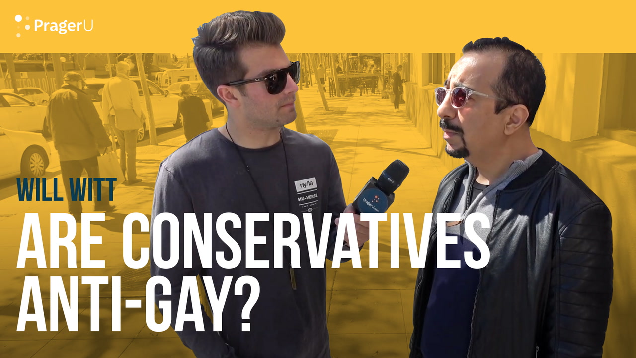 Are Conservatives Anti-Gay?