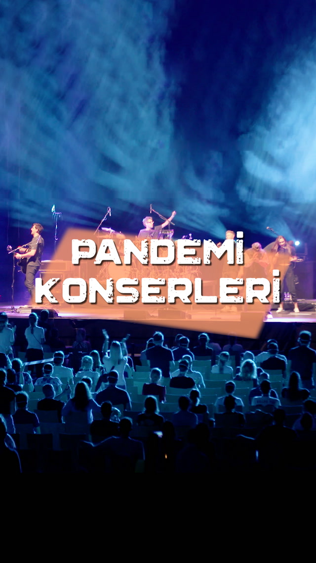 Pandemi bitmezse konserler böyle mi olacak?