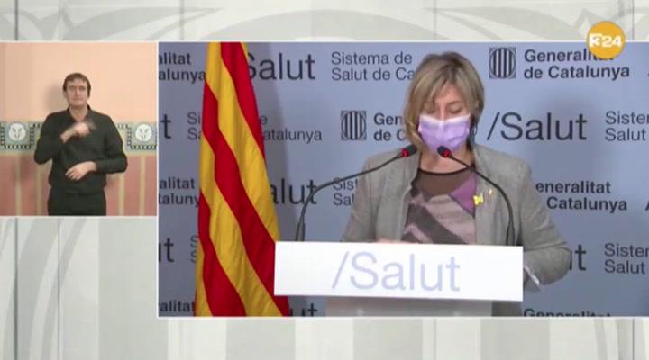 La consellera Alba Vergès: