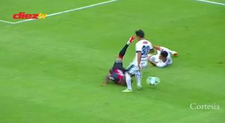 Luis Garrido habla de la jugada donde arriesgó su físico al jugar la pelota con la cabeza