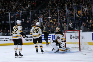 Alex Tuch discusses Golden Knights win over Boston Bruins
