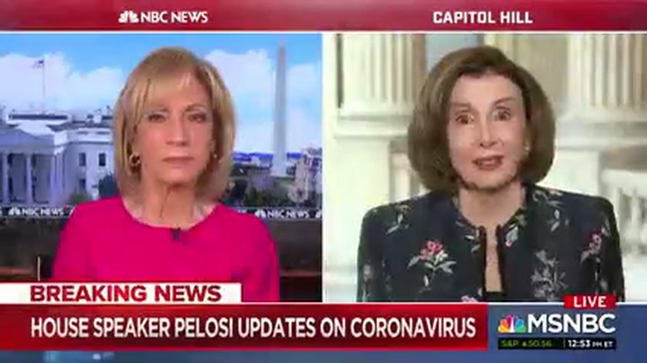 Pelosi: Trump 'Didn't Want to Face the Reality' of Coronavirus Which 'Cost Lives'