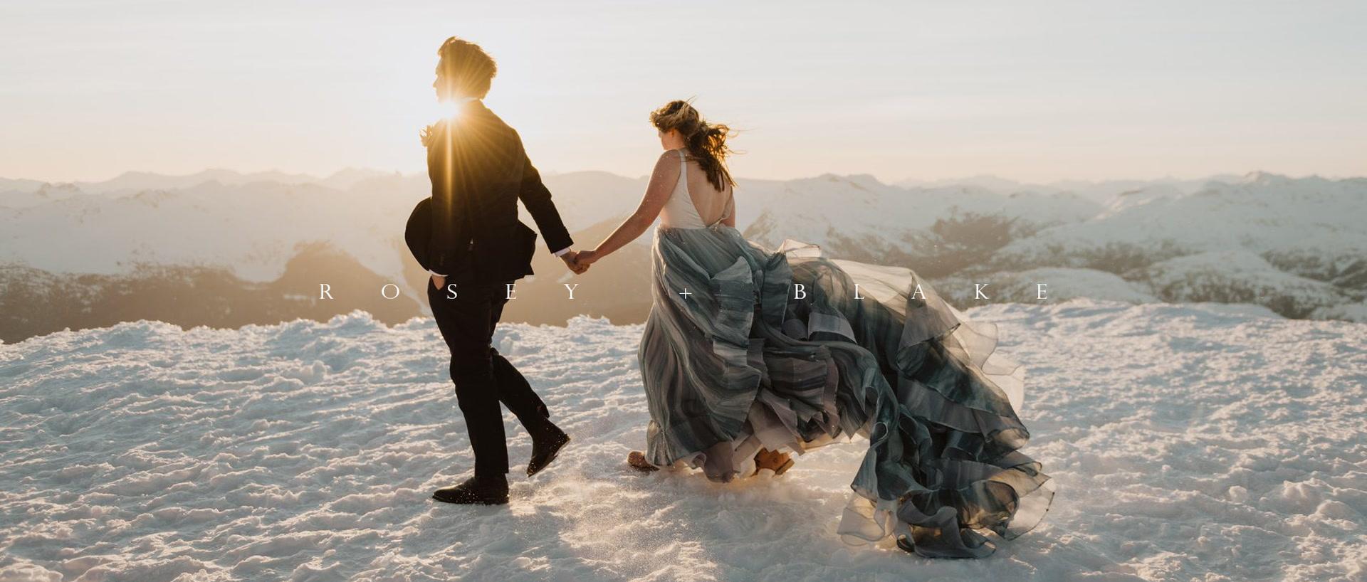 Rosey + Blake   Whistler, Canada   fairmont chateau whistler