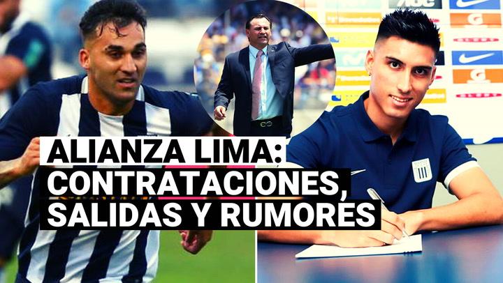 Alianza Lima: contrataciones, salidas y rumores del equipo íntimo para la Liga 2