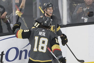 Golden Edge: Knights edge Lightning with late goal