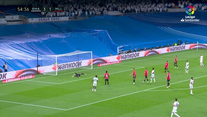 Gol de Asensio (4-1) en el Real Madrid 6-1 Mallorca