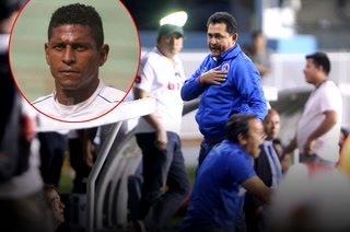Nahún Espinoza se calentó en conferencia: