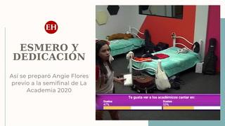 Así se preparó la hondureña Angie Flores previo a la semifinal de La Academia