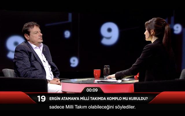 Jülide Ateş ile 40 - Ergin Ataman'a Milli Takım'da komplo mu kuruldu?