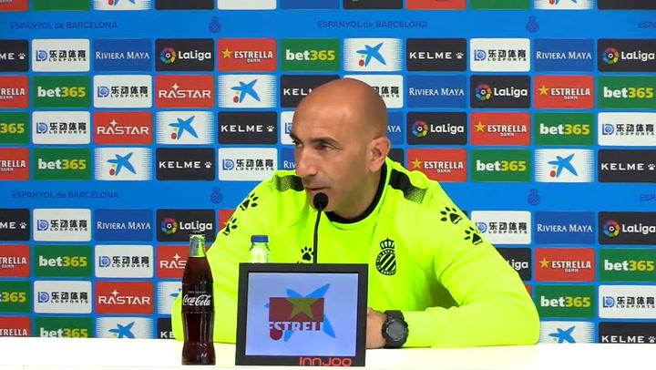 """Abelardo: """"Es un partido marcado con el rotulador"""""""