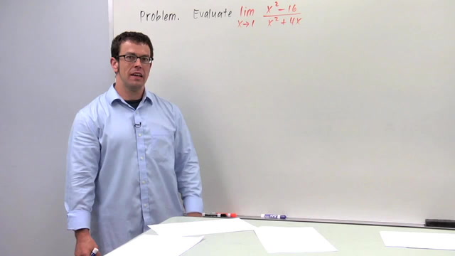 Evaluating Limits Algebraically, Part 1 - Problem 1