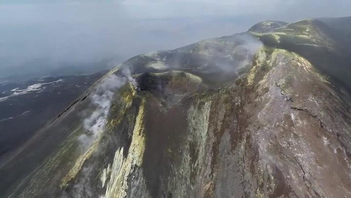 Spektakulære bilder fra vulkanen Etna