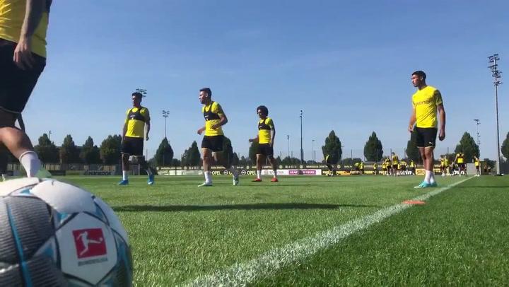 El Dortmund recupera a Burki y Guerreiro