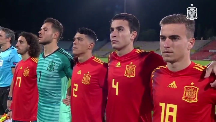 España empata a uno en Israel en el clasificatorio para el Europeo Sub-21