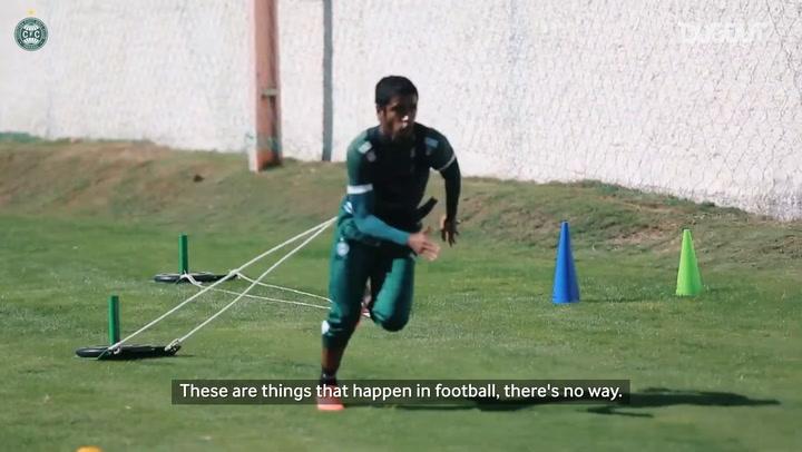 Gabriel analyses his injury and Coritiba's return
