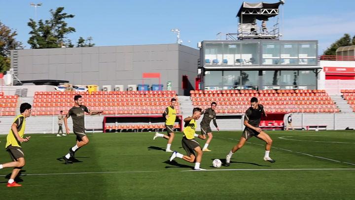 Nueva sesión del Atlético sin los internacionales ni Vrsaljko