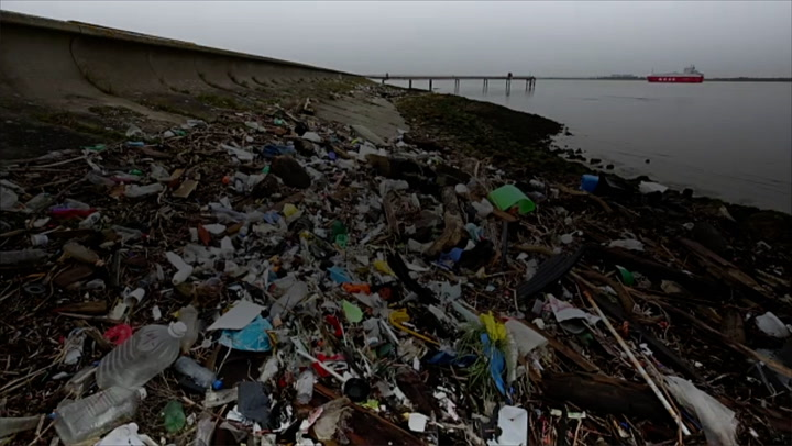 Fast food packaging accounts for '88% of world's coastline litter'