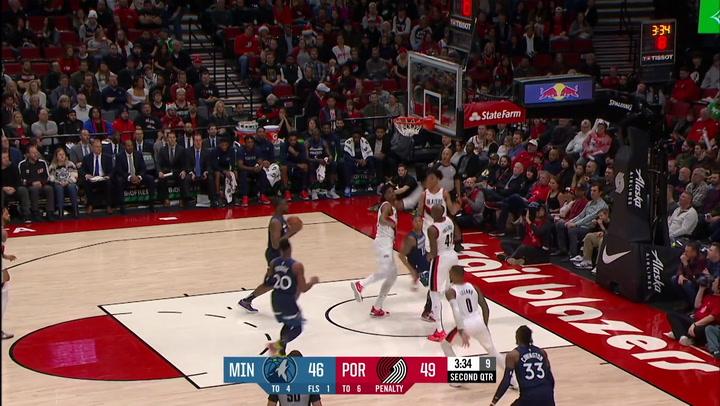 Las 10 mejores jugadas de la jornada de la NBA del 21 de diciembre 2019