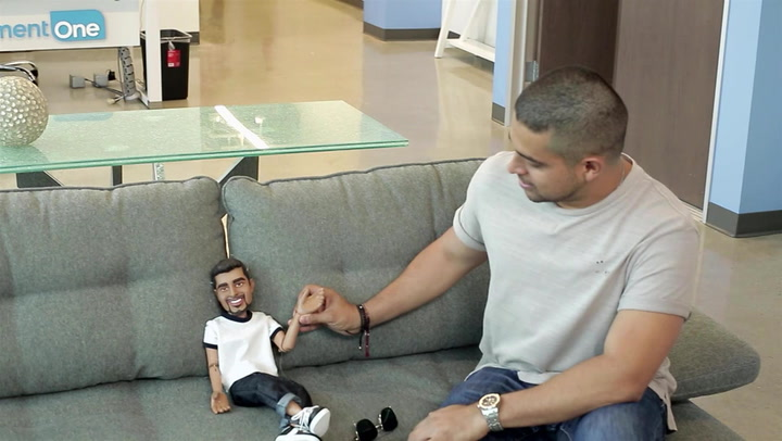 Hollywood Puppet Shitshow First Date: Wilmer Valderrama Meets His Puppet