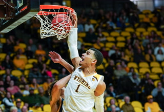 UNLV takes on Wyoming, Justin James on Tuesday.