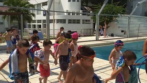 El verano se vive a pleno en las colonias de vacaciones de Paraná