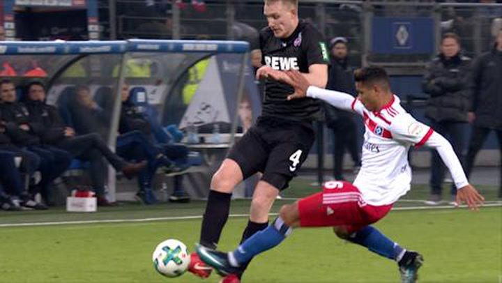 Hamburger SV - 1. FC Köln 1. - 45. (2017-2018)