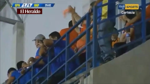 Franco Güity anota pa UPNFM 2-0 el marcador frente a Honduras del Progreso