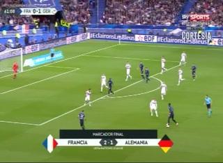 Doblete de Griezmann que da triunfo a Francia en la Liga de Naciones sobre Alemania