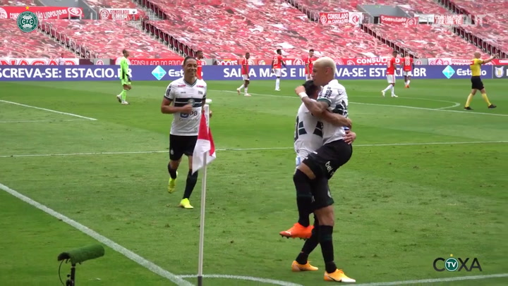 Coritiba draw against Internacional at Beira-Rio