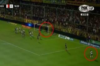 ¡Otra vez! Juan Fernando Quintero volvió a marcar un golazo con River Plate
