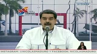 Maduro confirma contactos entre Washington y Venezuela
