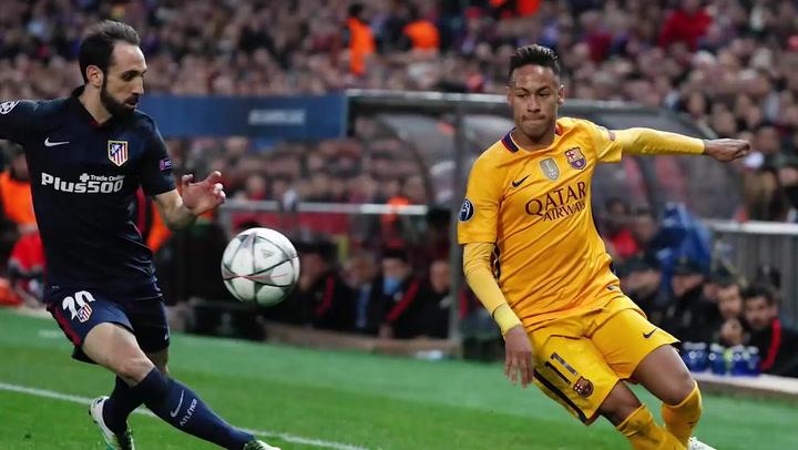 Juanfran recuerda sus duelos con Neymar y le deja un 'recadito'