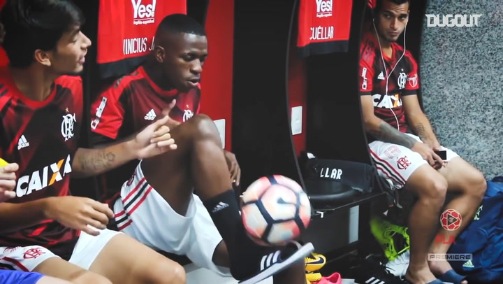Vinicius Jr's best Flamengo moments