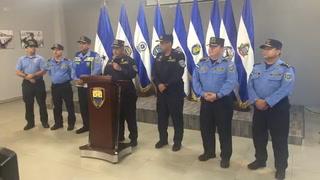 Policía Nacional brindó conferencia de prensa ante insurrección policial