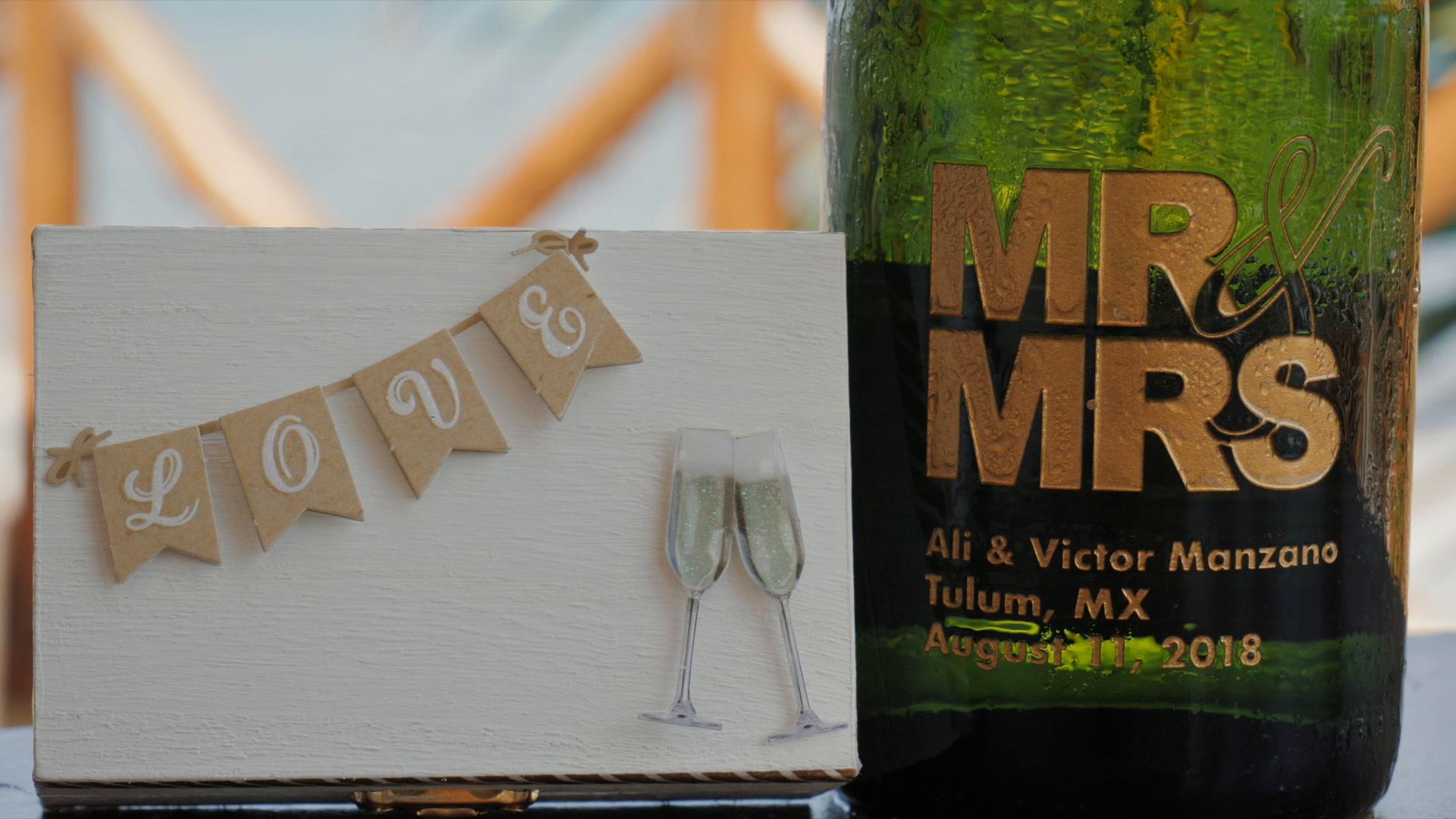 Ali + Victor | Tulum, México | Dune Boutique