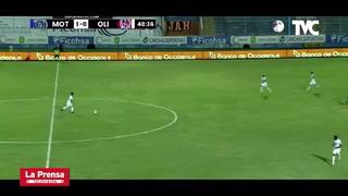 El penal por mano de Marcelo Santos que Armando Castro no pitó en el Motagua-Olimpia
