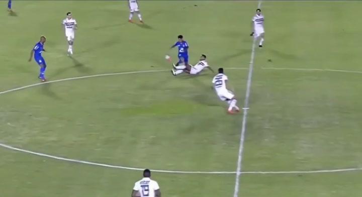 Así juega Igor Gomes (Sao Paulo), seguido por el Real Madrid