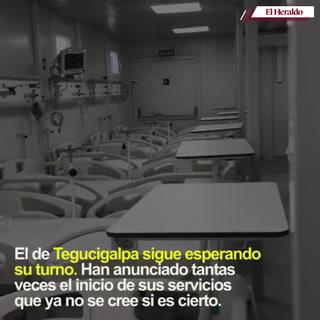 Invest-H incumple entrega de los 7 hospitales móviles