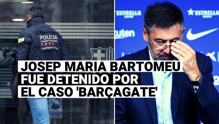 Josep Maria Bartomeu, expresidente de Barcelona, fue detenido por el caso Barçagate