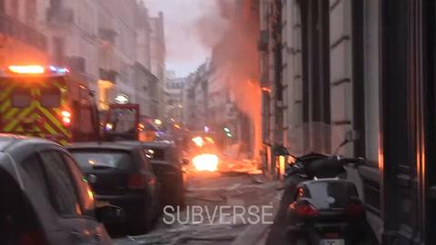 Al menos 2 muertos y más de 30 heridos al explotar una panadería en París